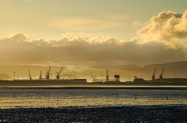 West Pier, Swansea Docks