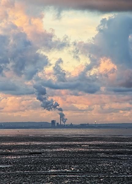 Cloud Machine – Port Talbot Steel Works